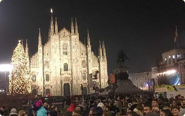 ミラノのクリスマス