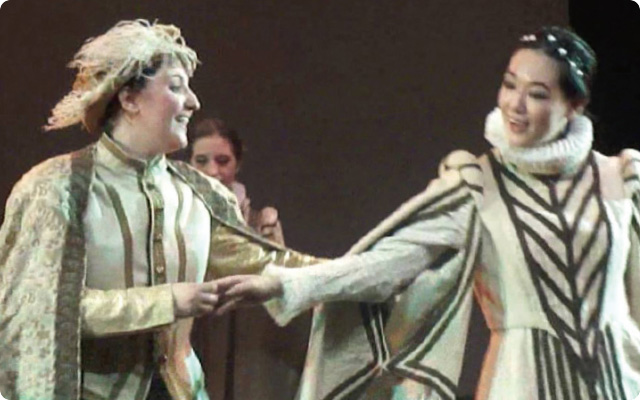 オペラ公演の舞台