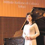 イタリア音楽留学 新垣有希子