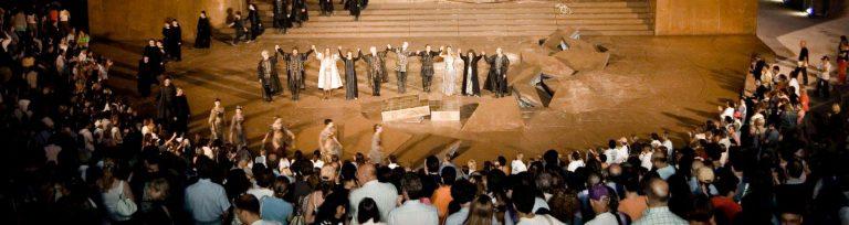 イタリア シラクーザ 舞台芸術