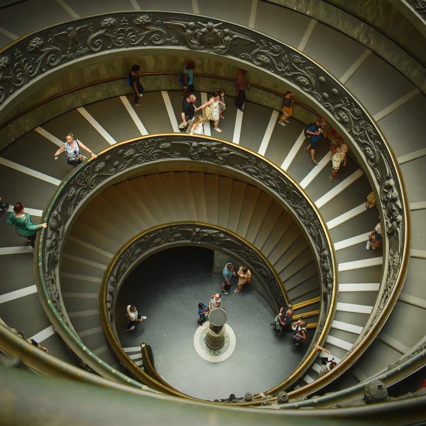 バチカン美術館 美術の国 イタリア